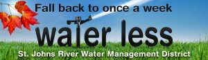 Fall back Water Less web banner
