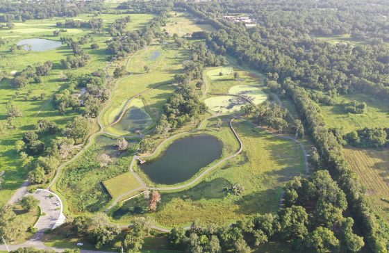 Aerial of Ocala Wetland Groundwater Recharge Park