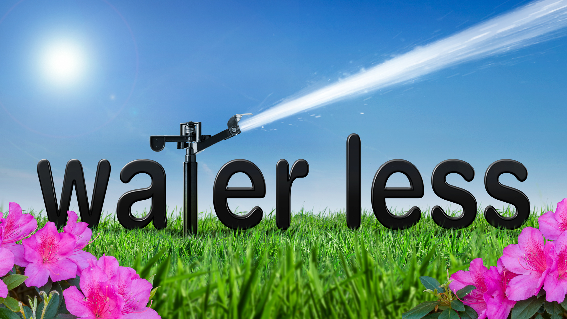 Water less