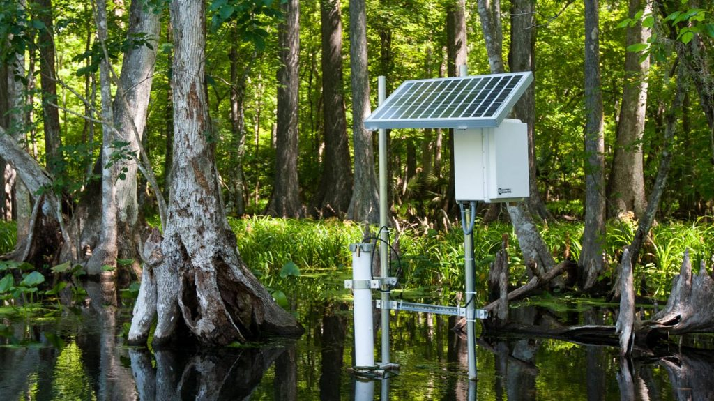 Water quality monitoring site
