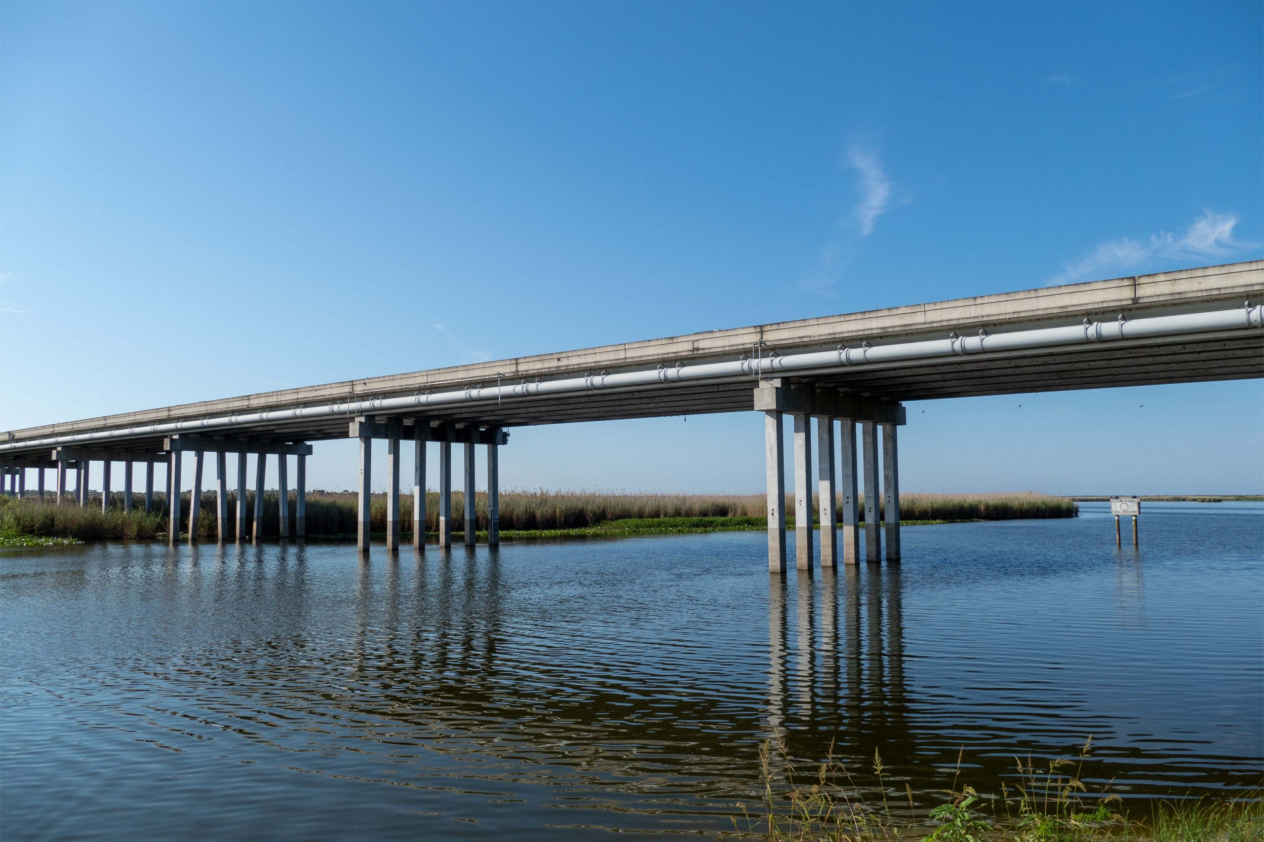 State Road 46 crosses the St. Johns River