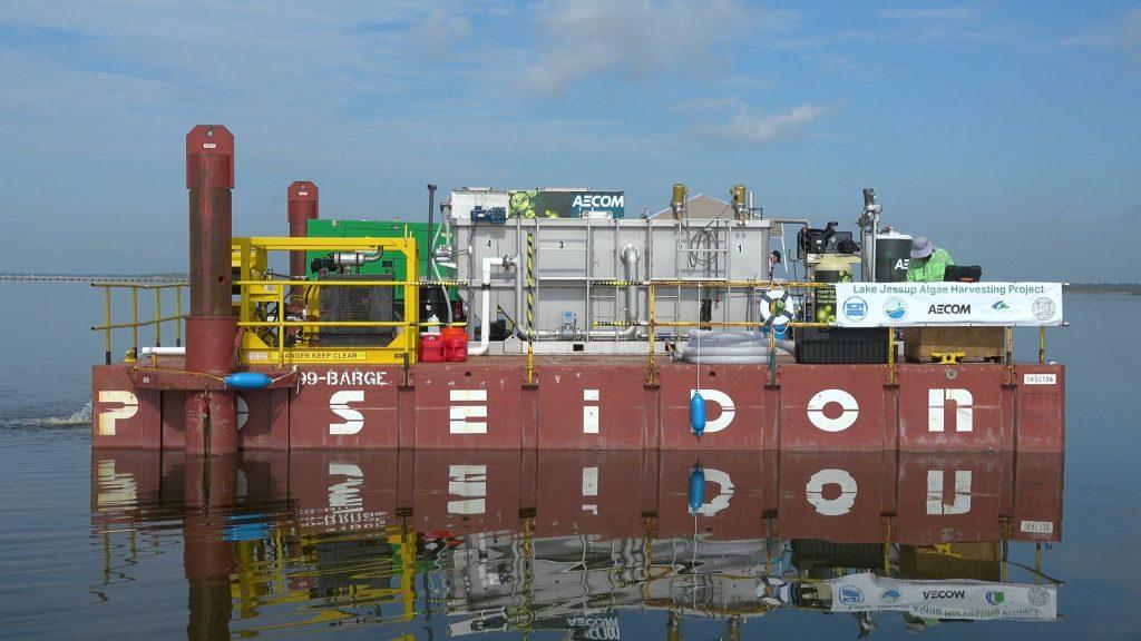 mobile algal harvesting platform